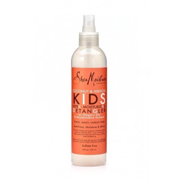 "Shea Moisture Spray démêlant Coco & Hibiscus ""Kids"" 237ml"