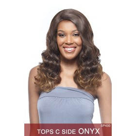 VANESSA WIGS perruque ONYX (C Side Top Lace)