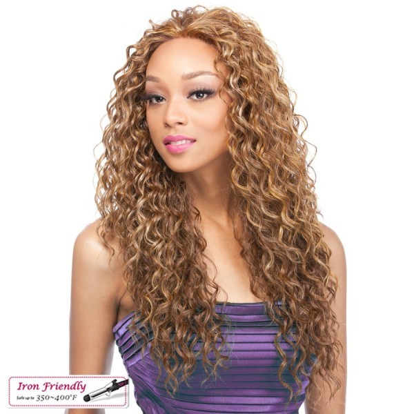 IT'S A WIG perruque BRAZILIAN CURL (Lace Front)