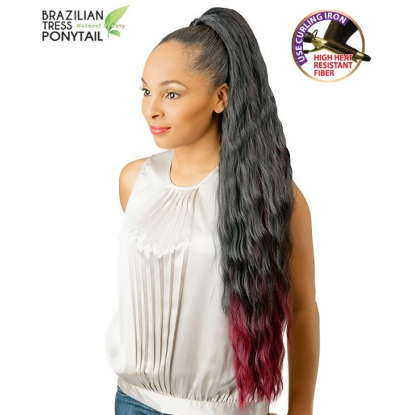 NEW BORN FREE postiche PONYTAIL 01 (Brazilian Tress)