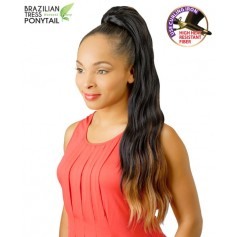 NEW BORN FREE postiche PONYTAIL 02 (Brazilian Tress)