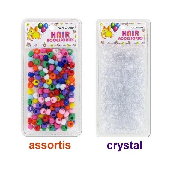 BRITTNY Perles rondes en plastique x 500