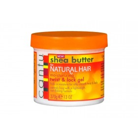 CANTU Gel pour torsades et locks KARITE (Twist & Lock) 370g