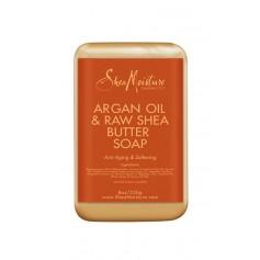 "Savon Argan et Karité 230g ""Raw Shea Butter Soap"""