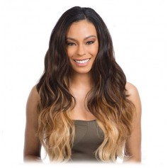 MODEL tissage Peruvian BODY BUNDLE WAVE 7PCS (Pose)