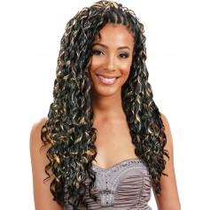 BOBBI BOSS natte DUAL BRAID TAPE CURL *