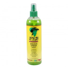 AFRICAN ESSENCE Spray pour tissage 6 en 1 355ml (Weave Spray)