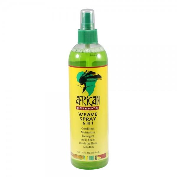 AFRICAN ESSENCE Spray pour tissage 6 en 1 355ml (Weave Spray)
