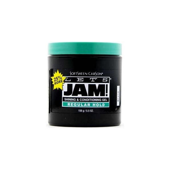 LET'S JAM Gel coiffant NORMAL 156g (Shining & Conditioning Gel)