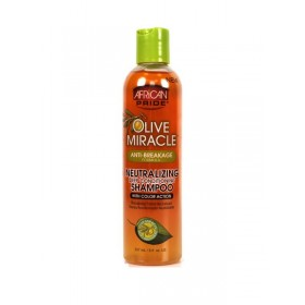 AFRICAN PRIDE Shampooing traitant neutralisant HUILE D'OLIVE 237ml