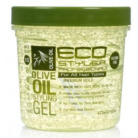 ECO STYLER Gel de fixation à l'huile d'Olive 473ml