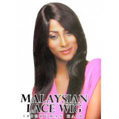 SUPREME perruque Malaysienne NATURAL STRAIGHT (Lace)