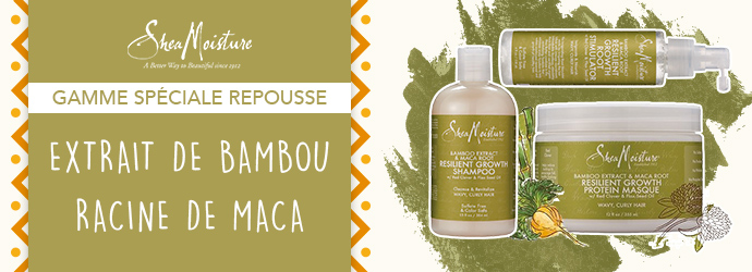 SHEA MOISTURE - BAMBOO & MACA