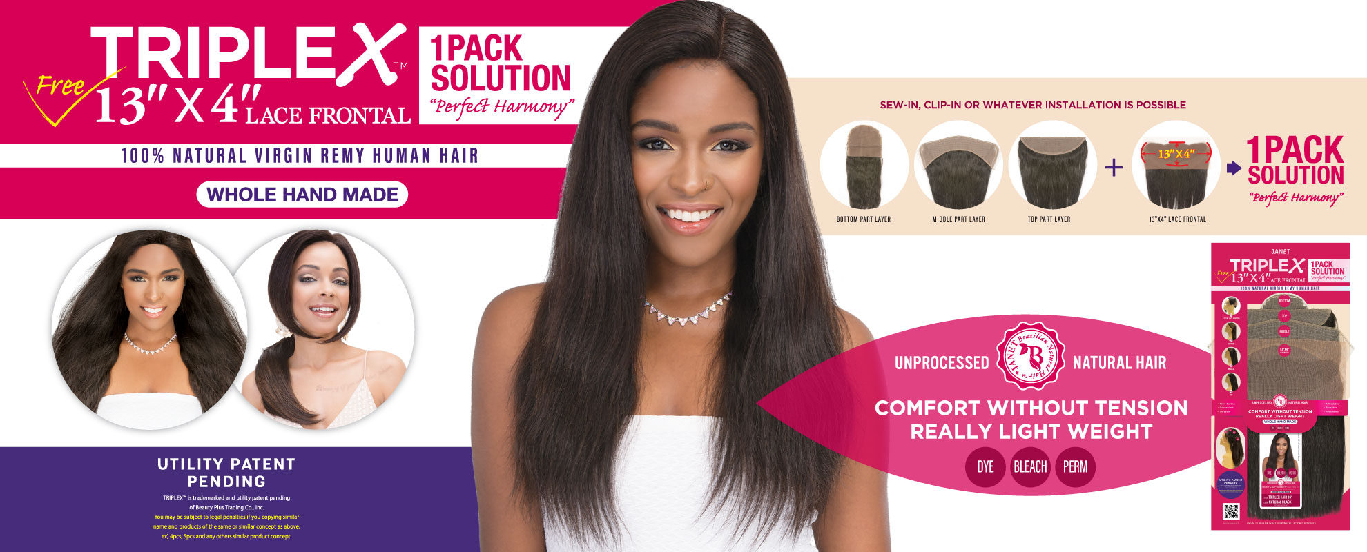 JANET - TRIPLEX HAIR
