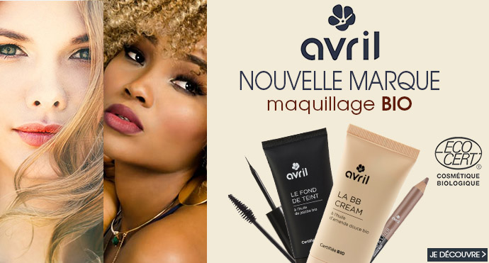 Avril, notre nouvelle marque de maquillage BIO