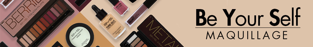 BE YOUR SELF MAQUILLAGE-SUPERBEAUTE.fr