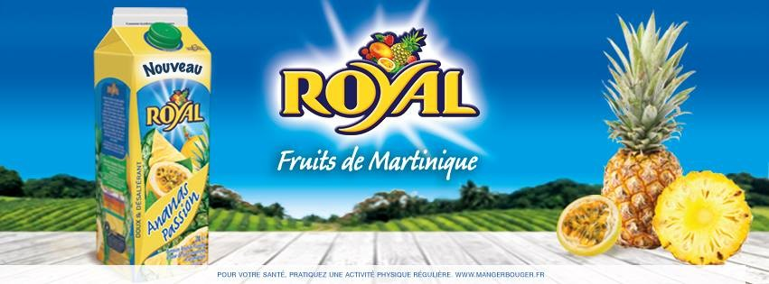 Boissons ROYAL de Martinique