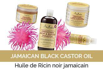 Découvrez la gamme Jamaïcan Black Castor Oil