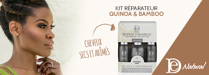DESIGN ESSENTIALS, kit réparateur quinoa & bamboo