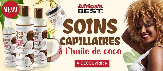 Nouvelle gamme au COCO de la marque AFRICA'S BEST >>>