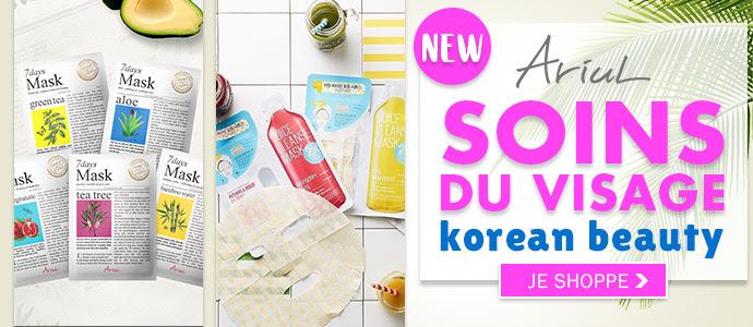 Nouvelle marque ARIUL spéciale Korean Beauty >>>
