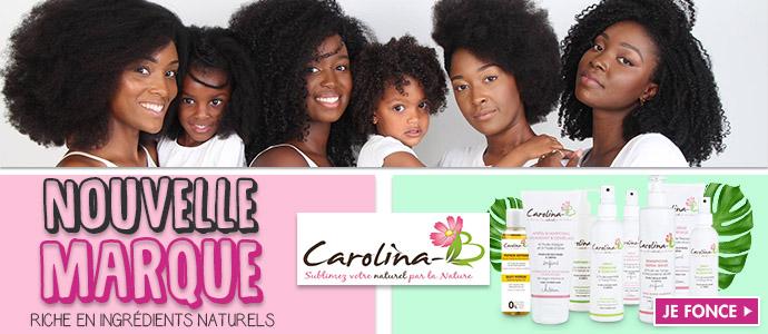 Nouvelle marque CAROLINA B >>