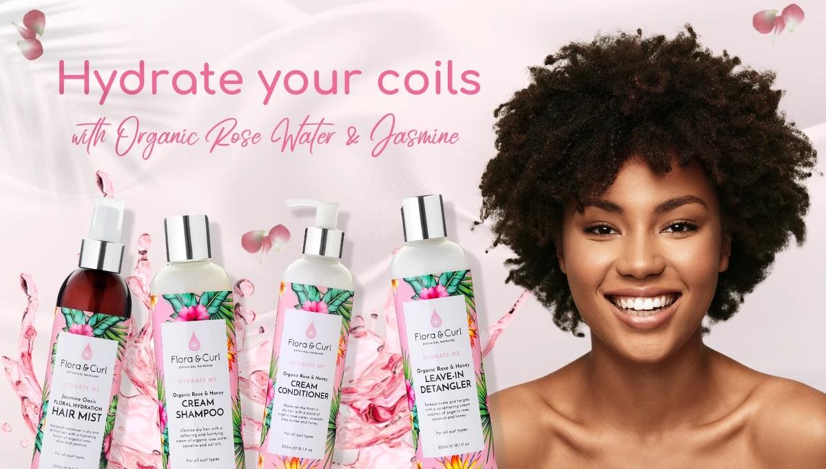 Flora & Curl gamme Hydrate me