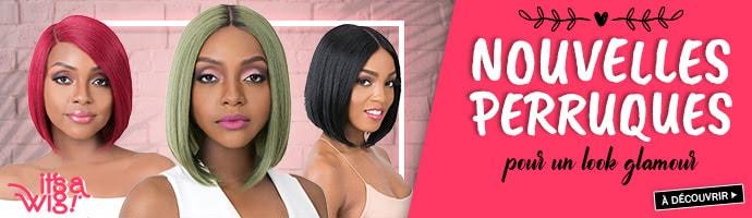 Nouvelles coiffures ITS A WIG octobre 2019