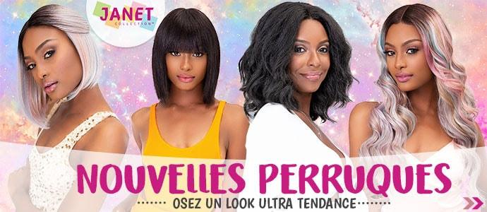 Nouvelles coiffures de la marque JANET cliquer ici >