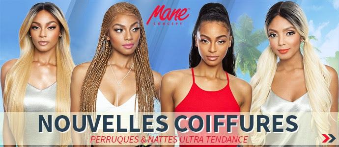 Nouvelles coiffures Mane Concept glamour pour l'été >