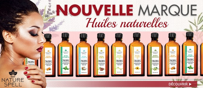 Nouvelle marque NATURE SPELL >