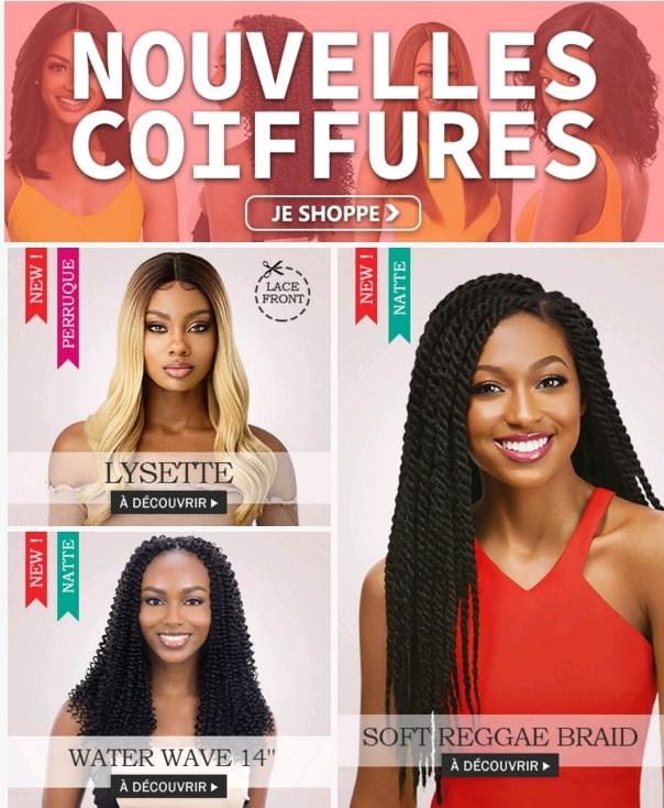 Nouvelles coiffures MI OCTOBRE 2019 >>>