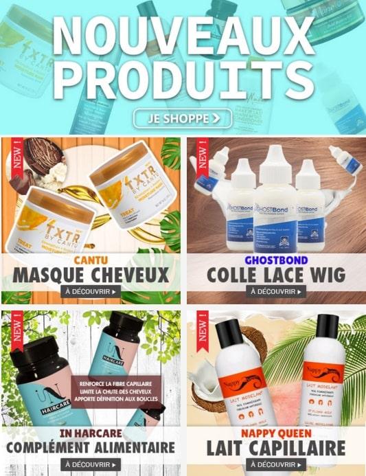 Nouveaux produits mi novembre 2019 cliquer ici >>>