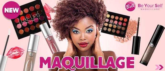 Nouveautés Maquillage du mois d'Avril >>>