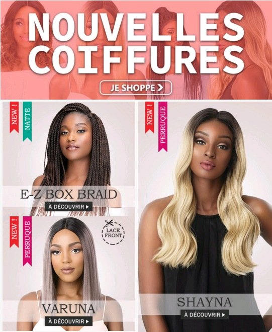 Nouvelles coiffures JANVIER 2019