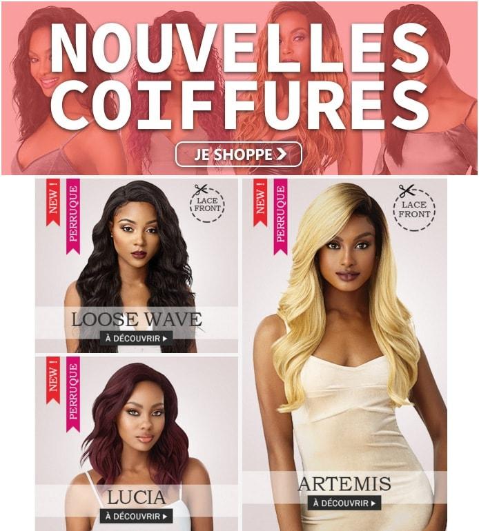 Nouvelles coiffures OUTRE Juin 2019 >>>