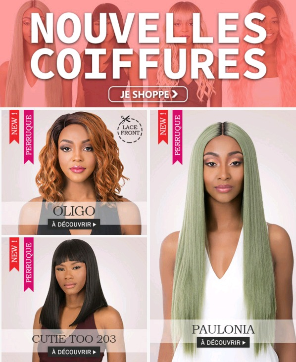Nouvelles coiffures SEPTEMBRE 2019, cliquez ICI >>>