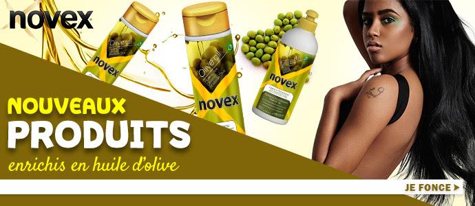 Nouvelle gamme à l'huile d'olive de NOVEX >>>