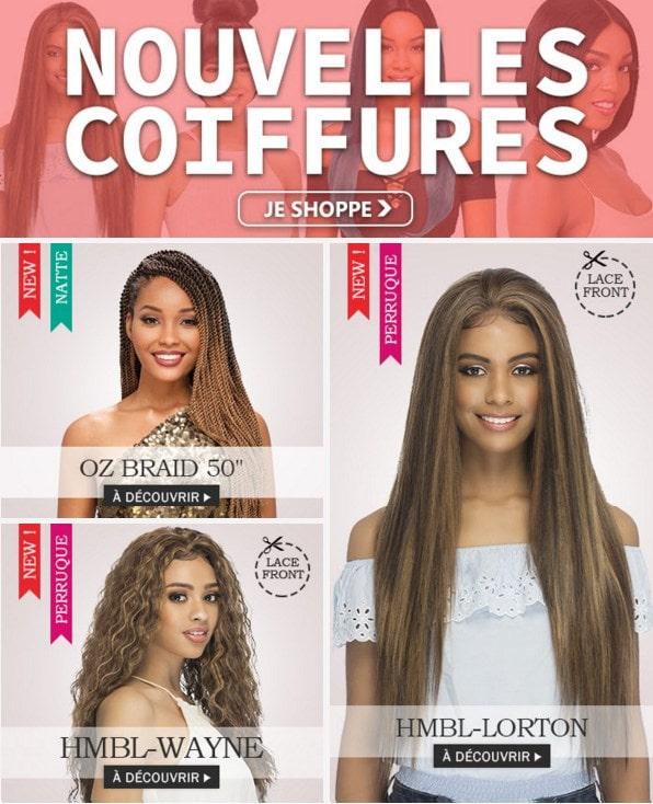 Voir toutes nos nouvelles coiffures d'Octobre 2019 >