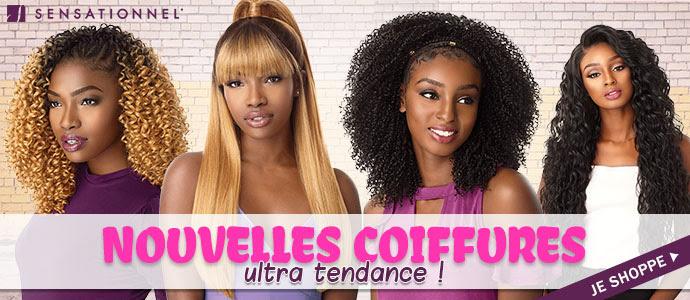 Nouvelles coiffures de la marque SENSATIONNEL Mai 2019 >>