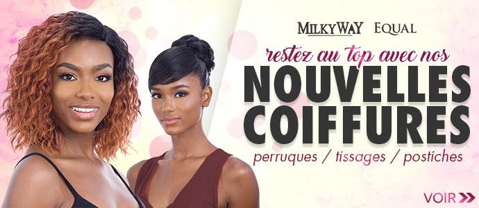 Nouvelles coiffures Milkyway, Freetress et Equal >>>