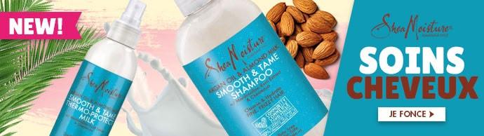 Nouvelle gamme ARGAN AMANDE de la marque Shea Moisture >>>