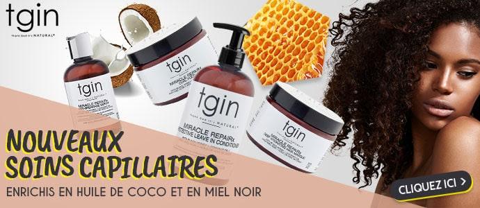 Nouvelle gamme MIEL NOIR et COCO de la marque TGIN >>