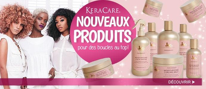 Nouveaux produits KERACARE pour cheveux bouclés >>>
