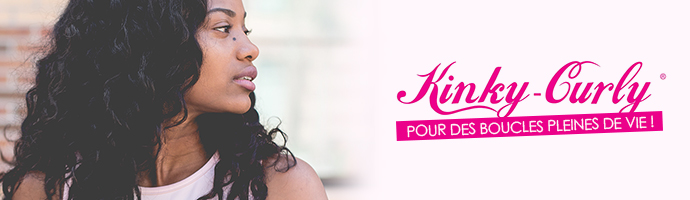Marque Kinky Curly pour coiffures bouclées