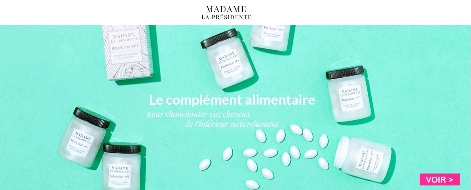 Nouvelle marque MADAME LA PRESIDENTE >