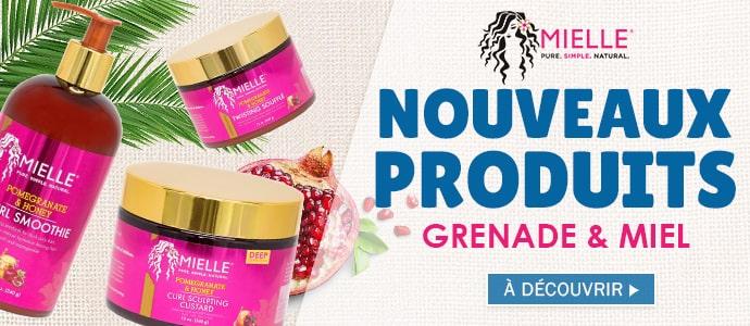 Nouvelle gamme Grenade et Miel de la marque MIELLE ORGANICS