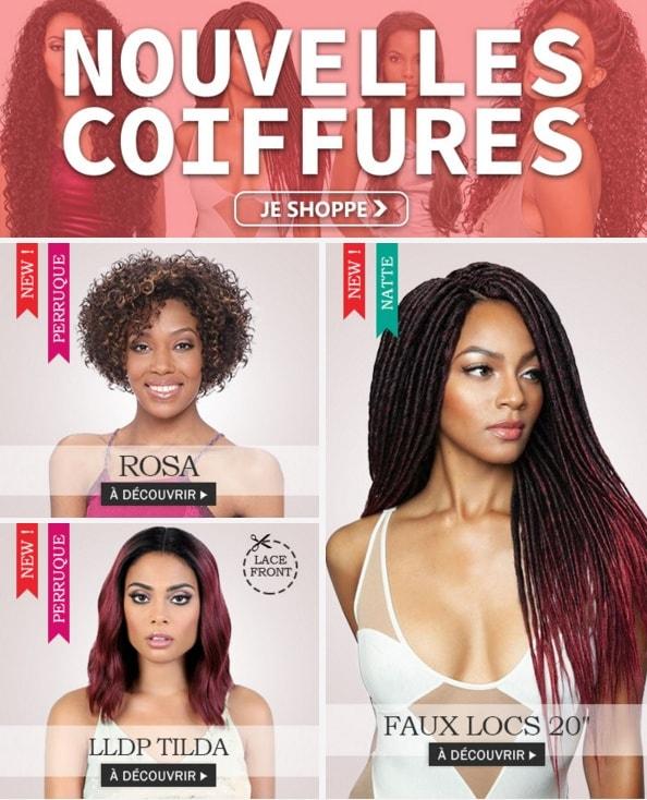 Nouvelles coiffures fin Août 2019, cliquez ici >>