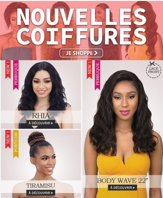 Nouvelles coiffures mi Novembre 2019, cliquer ici >
