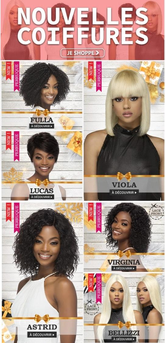 Nouvelles coiffures VIVICA FOX Décembre 2019